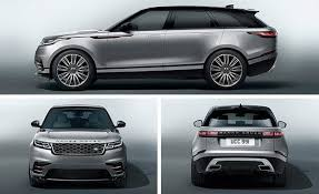 White Range Rover With Red Interior 2018 Range Rover Velar Official Photos And Info News Car And