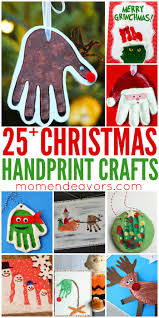 25 handprint christmas crafts