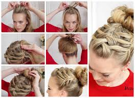 how to braid my own hair step by step diy tutorial instructions