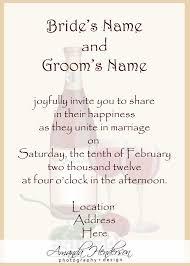 examples of wedding invitation wording vertabox com