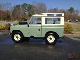 green station wagon rare 1961 land rover series ii 88 station wagon by private seller