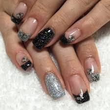 24 silver acrylic nail art designs ideas design trends