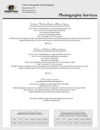 wedding photographer prices modern photography price list adorable wedding photography price