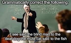 Grammer Nazi Meme - grammar nazi teacher memes imgflip