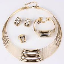 gold costume necklace images 2018 brand new fashion african costume women jewellery set 18k jpg