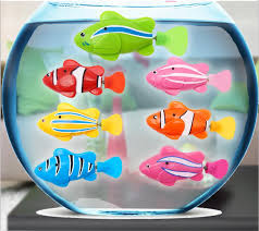 baby robot fish robo toys aquarium decorations robofish water