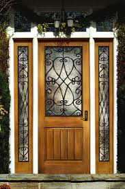 Trustile Exterior Doors Exterior Design Iron And Wood Material For Trustile Doors Design
