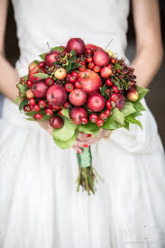 theme wedding bouquets apple theme wedding wedding bouquets apples