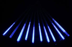 led meteor shower tube lights multi color 30cm meteor shower rain tubes ac100 240v led christmas