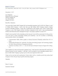 sample cover letter internship finance 29 excellent cover letters