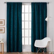 Patterned Window Curtains Teal Patterned Curtains Wayfair