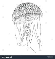 free coloring pages jellyfish coloring for kids jellyfish pages to print spongebob preschool