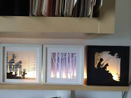 68 Best Wall Silhouettes Images by Amazing Shadow Boxes Done With Silhouette Cameo Tutorial On Her