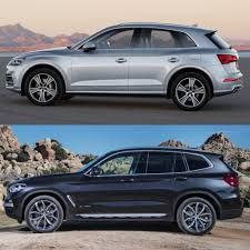 Audi Q5 New Design - photo comparison 2018 audi q5 vs 2018 bmw x3