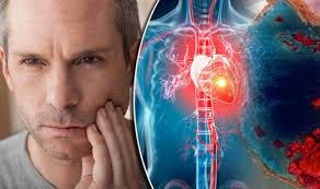 heart racing and light headed heart attack symptoms pain in the jaw could be warning sign