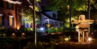 your landscape will come alive with landscape lighting
