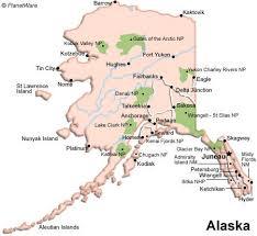 alaska major cities map alaska map and alaska satellite images