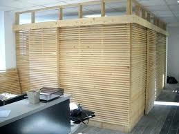 cloison s駱aration bureau cloison separation de sacparation mur bois chambre amovible
