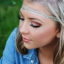 forehead headbands ivory gold boho headband boho headband from pacraftsfromthehear