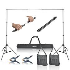 wedding backdrop equipment emart photo studio 10ft adjustable background