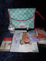 expecting did you get your free target baby registry gift bag