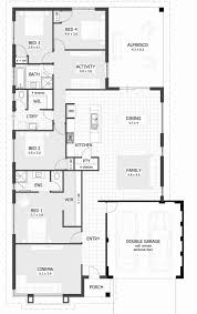 2 bedroom house plans nz twin unit floorplan the riveria