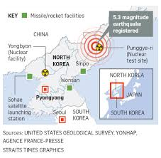United States Map Test by International Community Condemns North Korea U0027s Fifth And Largest