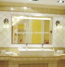 bathroom mirror attached light bathroom mirror attached light