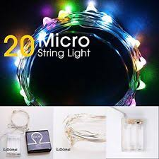 micro lights with timer lidore micro led 20 multi color string lights with timer battery