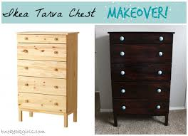 ikea tarva chest makeover projects pinterest dresser and