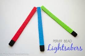 star wars perler bead lightsabers preschool inspirations