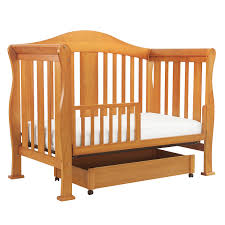 Baby Cribs Convert Full Size Bed by Davinci Parker 4 In 1 Convertible Crib In Oak K5101o Free Shipping