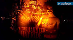 halloween haunted hayride nyc randalls island ny youtube