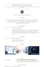 Senior Web Designer Resume Sample by Interaction Designer Resume Samples Visualcv Resume Samples Database