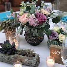 Log Vases Celebrations Event Floral Wedding Flowers Florist