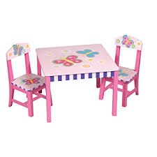 Amazon Com Guidecraft Butterfly Table And Chair Set Baby