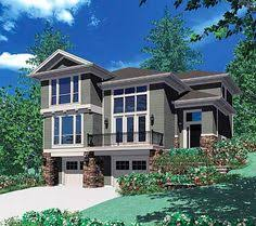 home plans for sloping lots plan 23060jd for the front sloping lot beautiful house plans