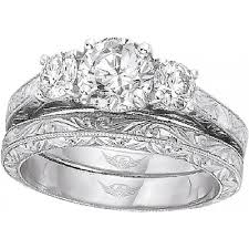 hand engraved rings images Flyerfit three stone hand engraved engagement ring h l gross png