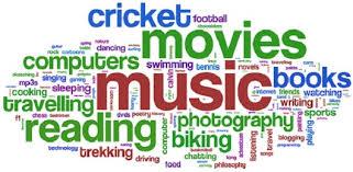 interest activities resume examples