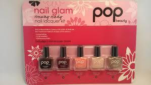 rainysunraynails pop beauty nail glam kit from costco swatches