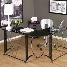 Black Computer Desk Desks Elegant Office Furniture Design With Cozy Ameriwood L