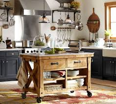 pottery barn kitchen island kitchens from oak wood design of