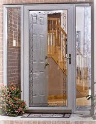 storm door with screen and glass pella provia and larson storm doors milwaukee door