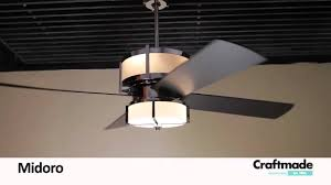 Craftmade Ceiling Fan Replacement Parts Craftmade Midoro Ceiling Fan Collection Youtube