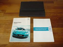 mazda rx8 rx 8 owners manual handbook 2003 2008 owner u0027s hand