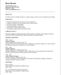 Graphic Designers Resume Samples graphic web designer sample resume cosmetic representative sample