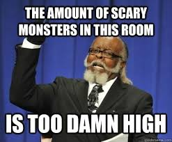 Horror Movie Memes - sleeping in my new room after a horror movie meme guy