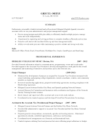 vice president resume samples bilingual administrative assistant resume sample frizzigame resume examples bilingual skills frizzigame
