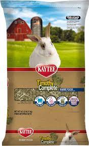 rabbit food kaytee timothy complete alfalfa free fiber diet rabbit food 9 5