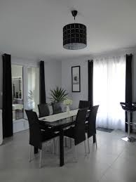deco cuisine noir et gris best salon noir et blanc deco pictures amazing house design
